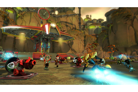 Ratchet & Clank: Q Force anche su PS Vita