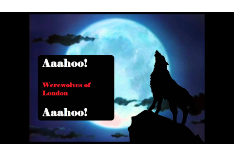 Werewolves of London - Lyrics - YouTube