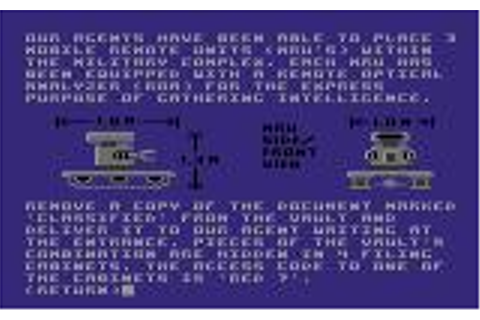 Hacker II: The Doomsday Papers for Amiga (1986) - MobyGames