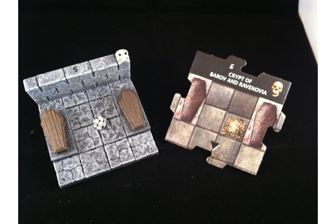 3-D tiles for Dungeon and Dragons: Castle of Ravenloft ...