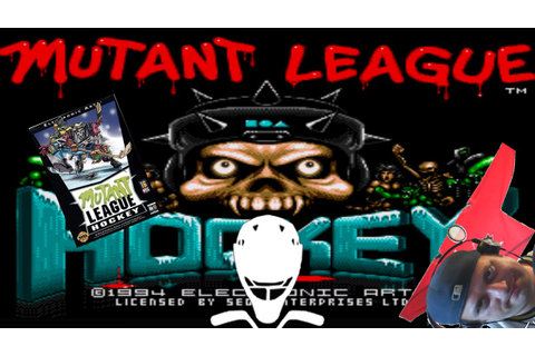 Mutant League Hockey Game play & Hockey Talk - YouTube