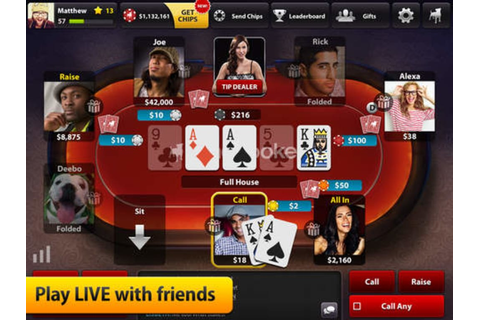 Zynga Poker Classic – Texas Holdem for iPhone - Download