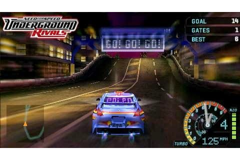 Need For Speed Underground Rivals | Download Game PSP ...