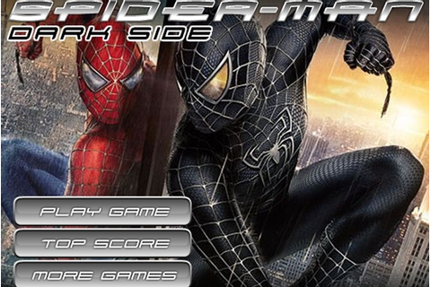 Spiderman Dark Side Game - Spiderman games - Games Loon