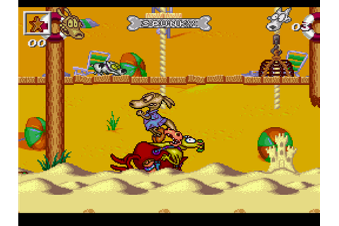 Rocko's Modern Life: Spunky's Dangerous Day Screenshots ...