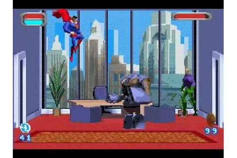 Justice League: Injustice For All GBA Game - Metropolis ...