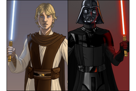 Jedi inspired dress up game