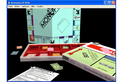 Monopoly (1995) by Westwood Win3.1 game