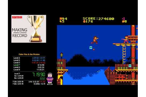 Peter Pan and the Pirates NES Speedrun WR (11:11) - YouTube