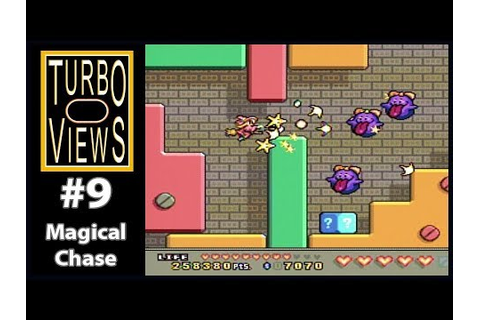 """Magical Chase"" - Turbo Views #9 (TurboGrafx-16 / Duo game ..."