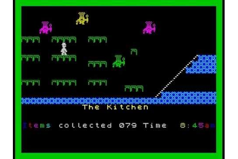 Jet Set Willy Walkthrough, ZX Spectrum - YouTube