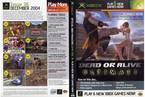 Official Xbox Magazine Game Disc 36 - Computing History