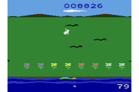 Atari 2600 – Rabbit Transit – I Play All The Games