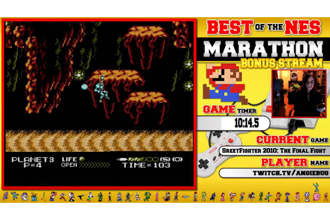 #BestOfNES Marathon! Street Fighter 2010: The Final Fight ...
