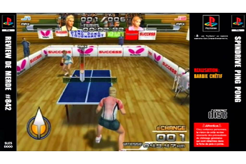 Review de merde #842 : SpinDrive Ping Pong [PS2] - YouTube