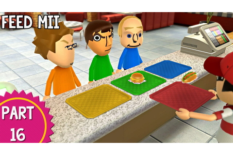 Wii Party U: Episode 16 - Feed Mii - YouTube