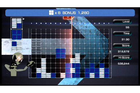 Lumines Live! Rockin' Holiday Pack Complete HD - YouTube