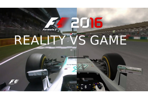 The Real F1 2016, REALITY vs GAME - YouTube