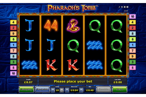 Pharaoh's Tomb Slot Machine to Play Free & for Money with ...