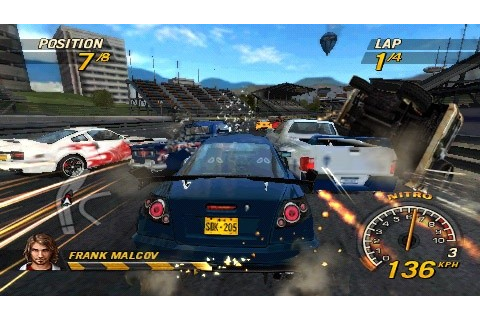 Flatout Head On PSP Demo | Free PSP Demo Games