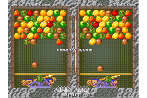 Cookie & Bibi arcade video game by SemiCom (1995)