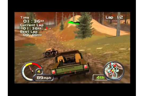 Test Drive Off Road Wide Open (PS2) Gameplay 3 - Hummer H1 ...