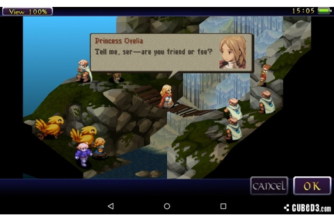 Final Fantasy Tactics: The War of the Lions (Android ...