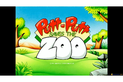Putt-Putt Saves the Zoo gameplay (PC Game, 1995) - YouTube
