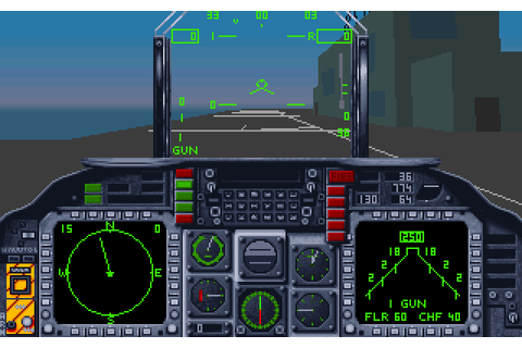 AV-8B Harrier Assault (1992) by Simis / The Kremlin MS-DOS ...