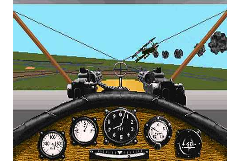 Red Baron (Sierra\Dynamix) - PC Game 1990 - YouTube