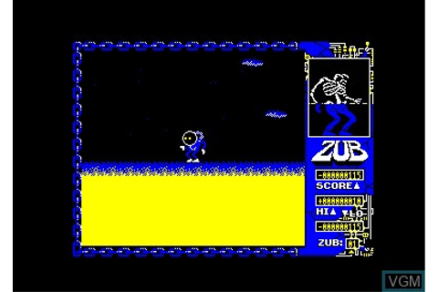 Zub for Amstrad CPC - The Video Games Museum
