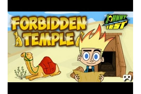 Johnny Test - Forbidden Temple - Johnny Test Games - YouTube