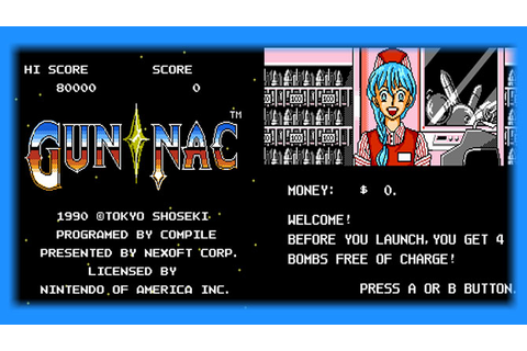 Gun-Nac (NES) - English Patch Download | GO GO Free Games