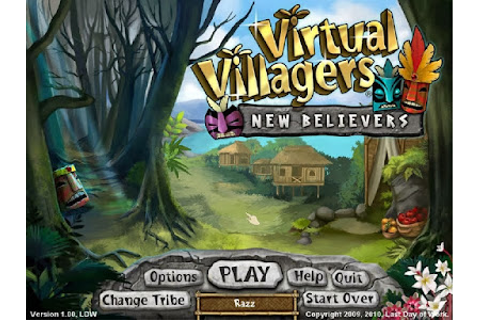 Virtual Villagers New Believers Game - PC Full Version ...