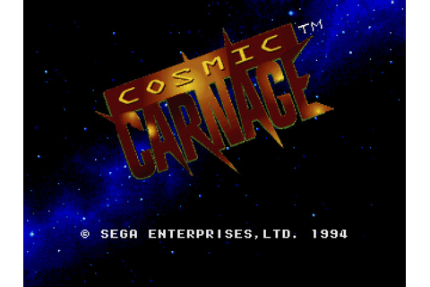 Cosmic Carnage (32X) ROM Download