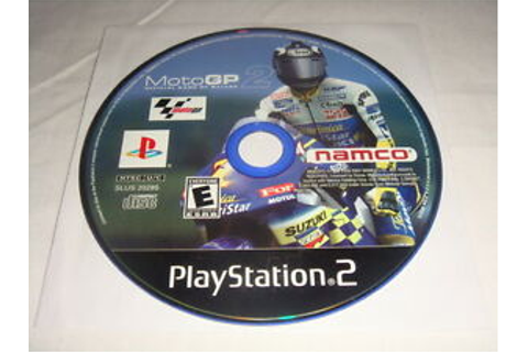 MotoGP 2 - PS2 Sony PlayStation 2 game Disc Only NAMCO ...