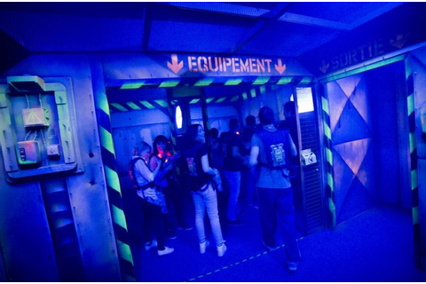 Megazone Laser game - Toulouscope