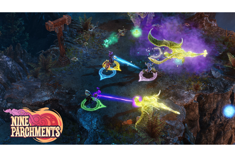 Monthly Report: Spring with Nine Parchments | Frozenbyte