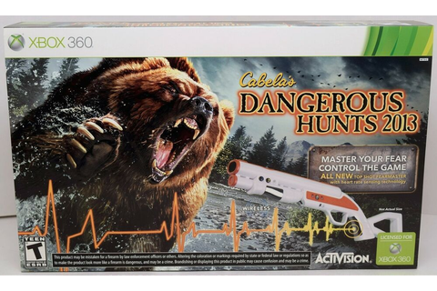 NEW XBox 360 Cabela's Dangerous Hunts 2013 Hunting GAME ...