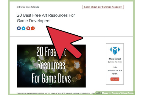 2 Easy Ways to Code a Video Game - wikiHow