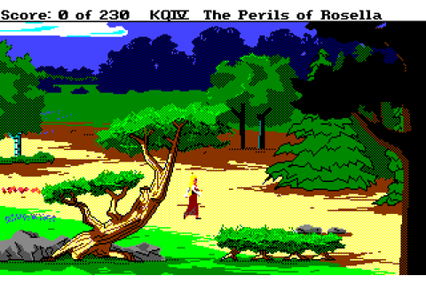 King\'s Quest IV: The Perils Of Rosella : The Company ...