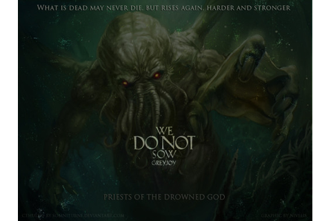 Game Of Thrones - PRIESTS OF THE DROWNED GOD Cthulhu...