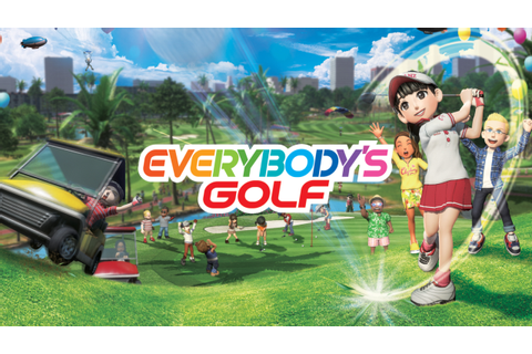 Everybody's Golf DLC '20th Anniversary Commemoration ...