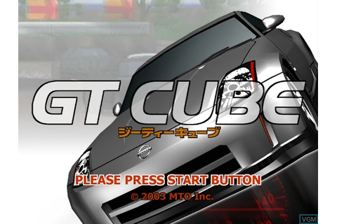 GT Cube for Nintendo GameCube - The Video Games Museum
