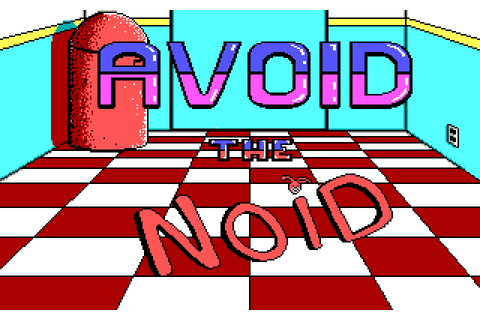 Avoid the Noid (1989) MS-DOS game