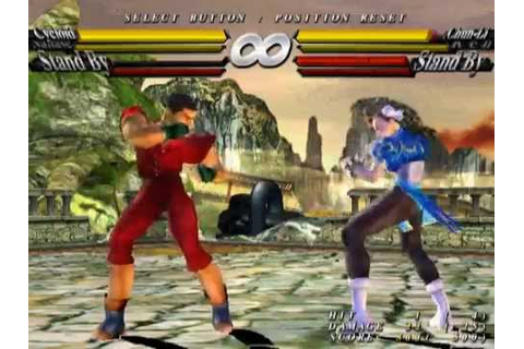 Street Fighter EX3 [PS2] - play as 1st Credits character ...