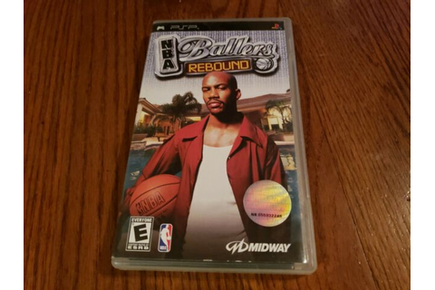 NBA Ballers: Rebound Basketball Game (Sony PSP, 2006 ...