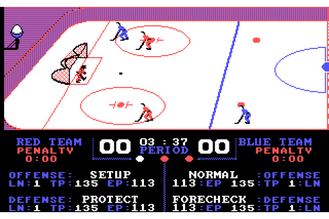 Download Superstar Ice Hockey sports for DOS (1987 ...