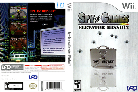 Wii Spy Games Elevator Mission Walkthrough download free ...