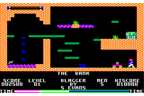 Download Blagger (Amstrad CPC) - My Abandonware